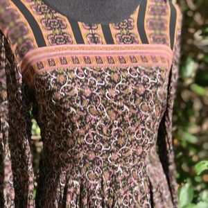 Ecote Dresses - Urban Outfitters Bell Sleeve Dress India Print 6